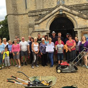 Etton Church clean up