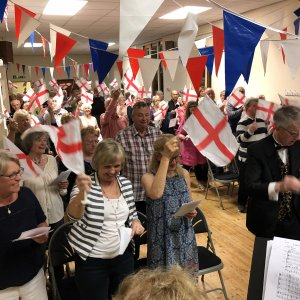 St George's Day Concert raises over £1000 for charity