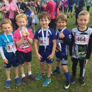 300 free children's places in the Anna's Hope 5k fun run